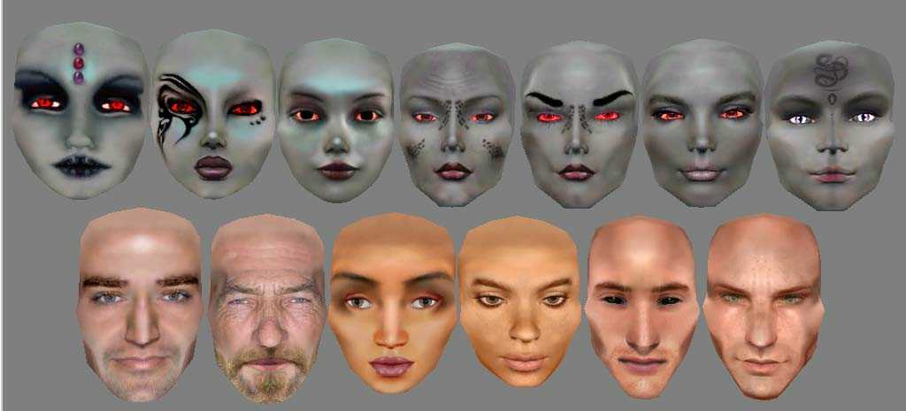 Sexy elf face mods for morrowind
